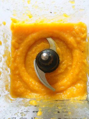 pureed butternut squash