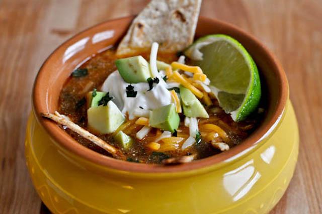 easy one pot tortilla soup
